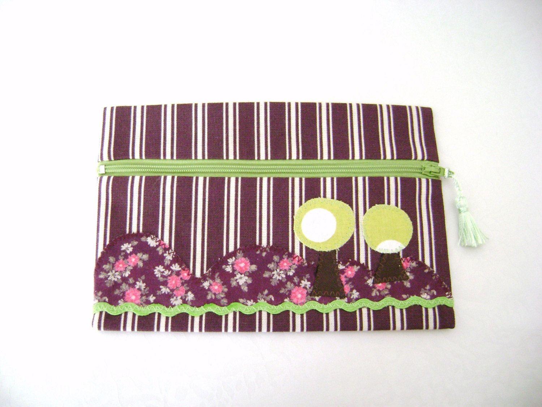 Pencil case picks Case of Color Arrangement Plum (10.00 EUR) by AutourdelleShop