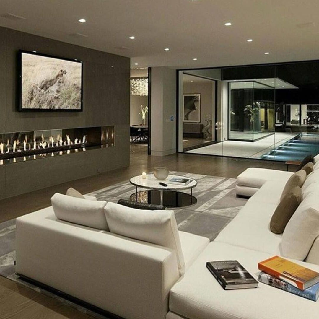 Luxury meets minimal in this beautiful living area | Modern minimal ...