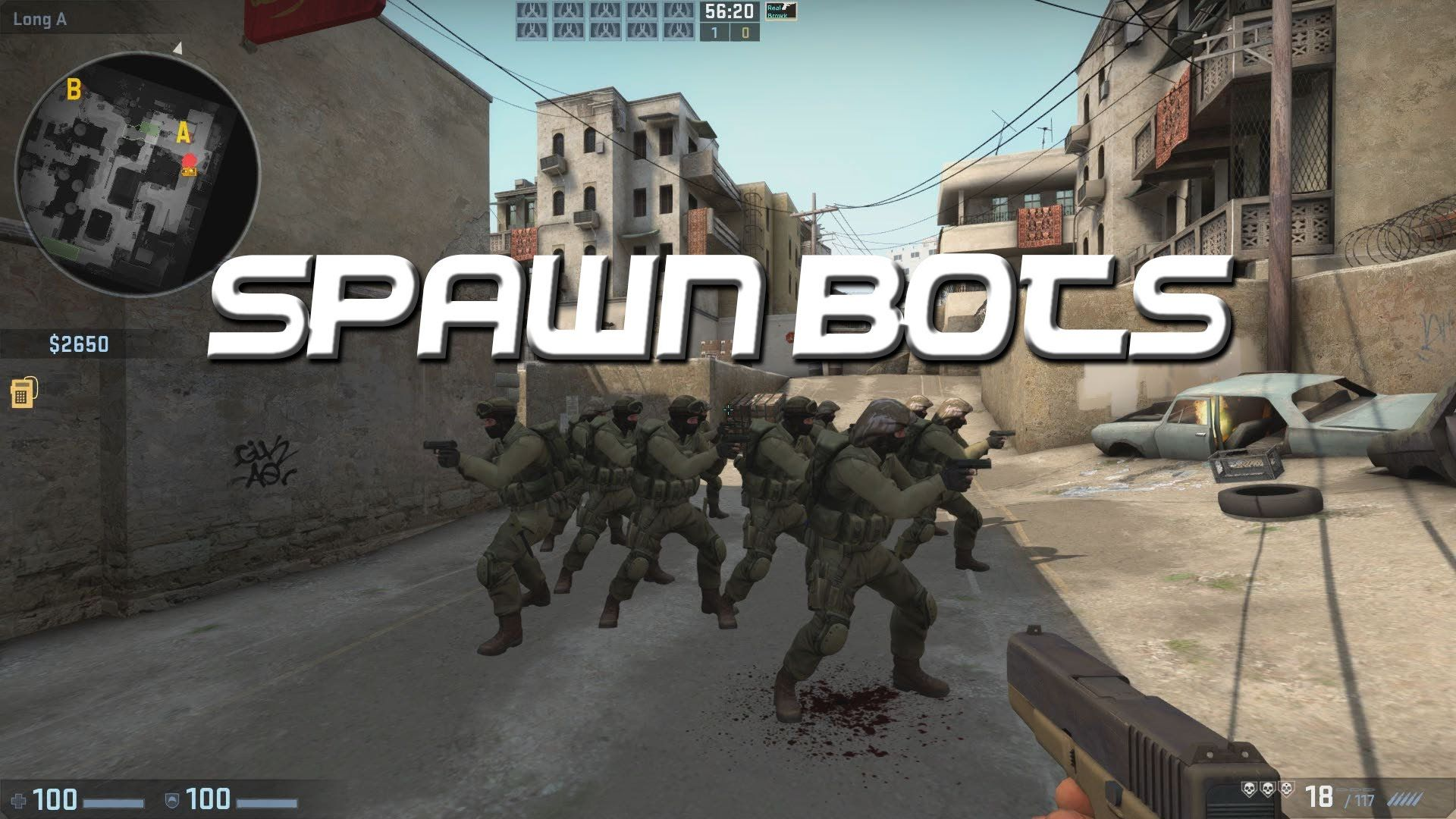 How To Spawn Static Bots In Cs Go Spawn Static Bot
