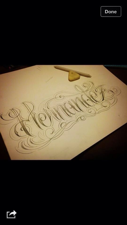 Pin By Christian Mendoza On Tattoos Sketches Last Name Tattoos Tattoo Lettering Name Tattoos
