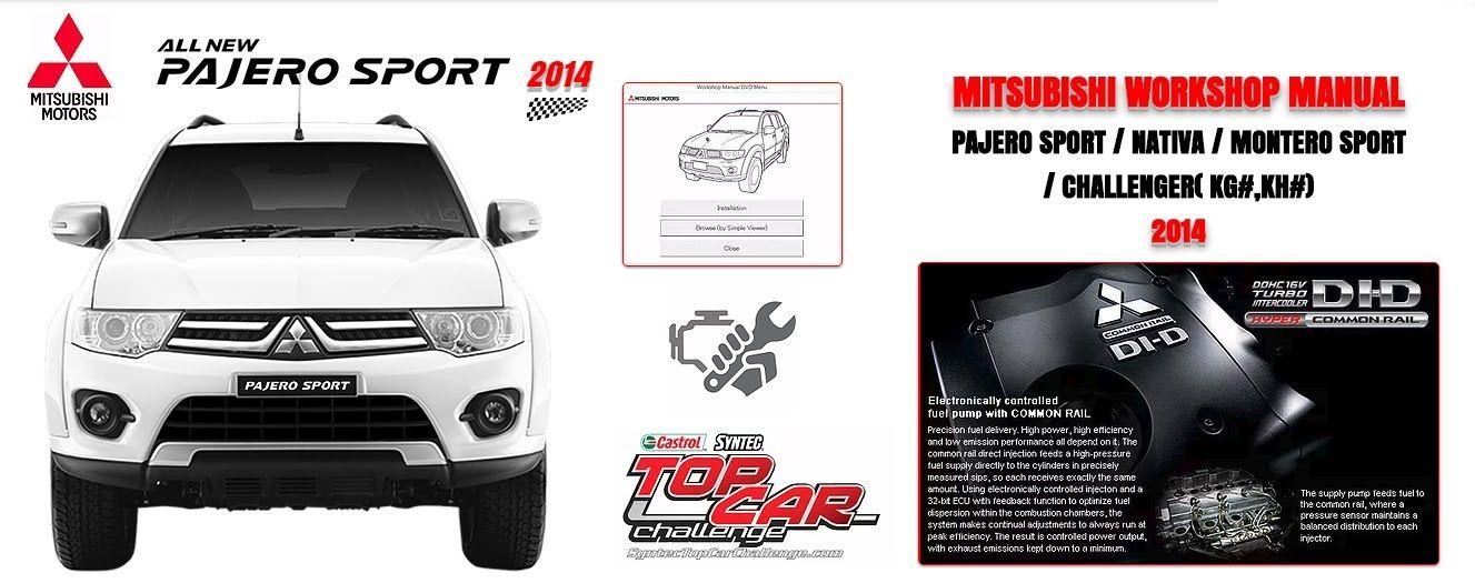 Mitsubishi Pajero Sport 2014 Repair Manual Mitsubishi Pajero Sport 2014 Repair Manual Mitsubishi Pajero Sport Car Repair Service Mitsubishi Pajero