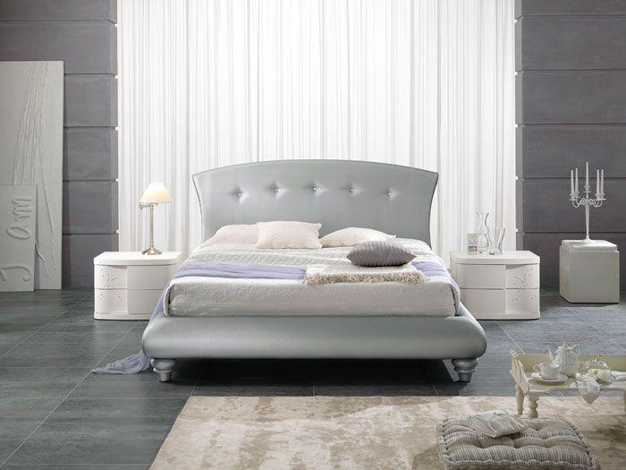 Pin di Spar Arreda su Design Bedroom nel 2019  Bed Bedroom styles e Upholstered platform bed