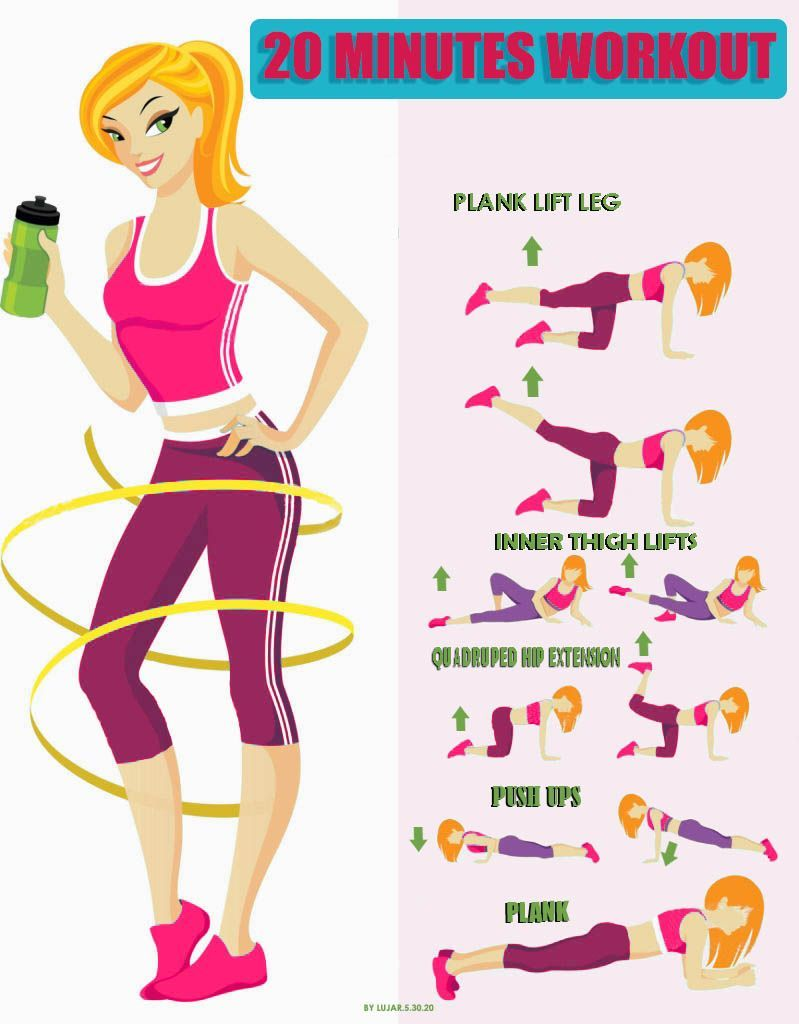 Tone your body with just 20 min 3 times a week This workout will help you achieve desired results.!...