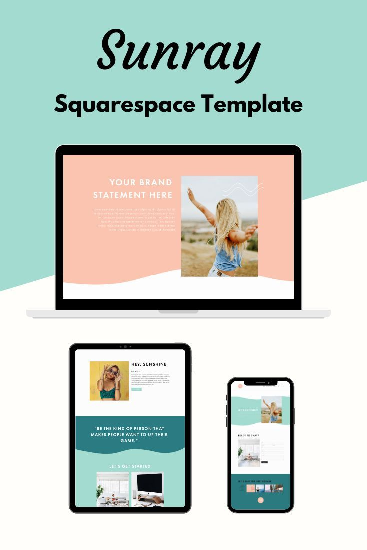 Squarespace Template New Sunray Template In 2020 Squarespace Templates Squarespace Website Templates Squarespace