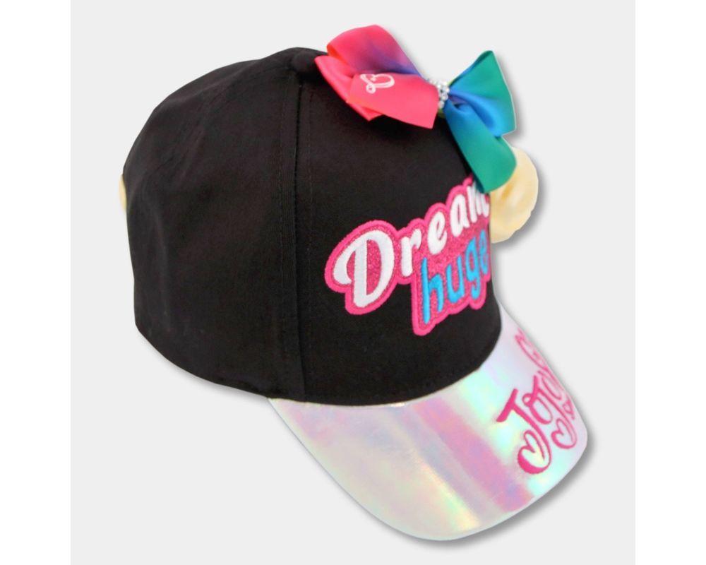 JoJo Siwa Baseball Cap /& Bow I Kids Jo Jo Siwa Hat /& Bow Accessory One Size