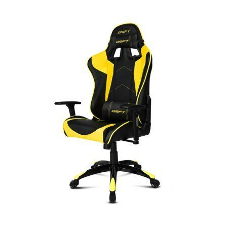 Silla Gaming DRIFT DR300 Negro / Amarillo