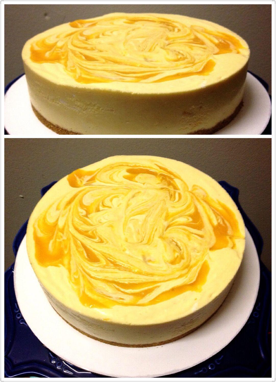 how to make mango puree for cheesecake
