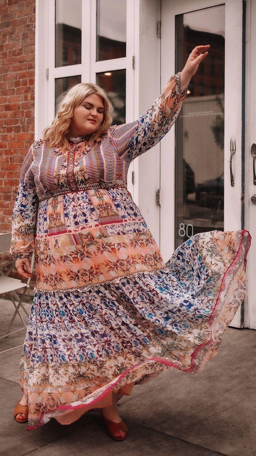 Plus Size Boho Fashion