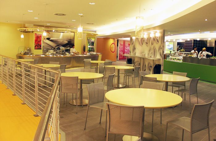 Fast food interior design marchi italian interior for Fast food decoration