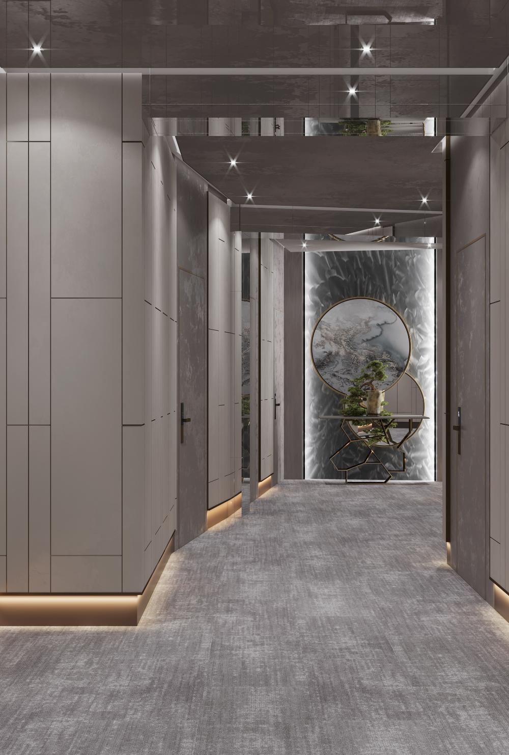 Pilot Hotel Hallway Baku Azerbaijan On Behance Hotel Room Design Bedrooms Hotel Hallway Luxury Houses Entrance