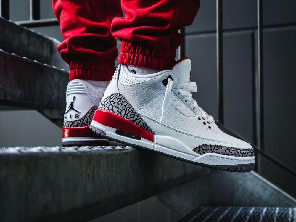 01c83ddfb5f61a Nike Air Jordan 3 Retro III Katrina Hall Of Fame Men Basketball Shoes 136064 -116