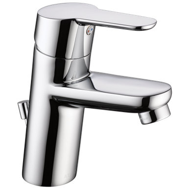Delta Modern Single Hole Bathroom Faucet 1 2 Gpm Chrome In 2020