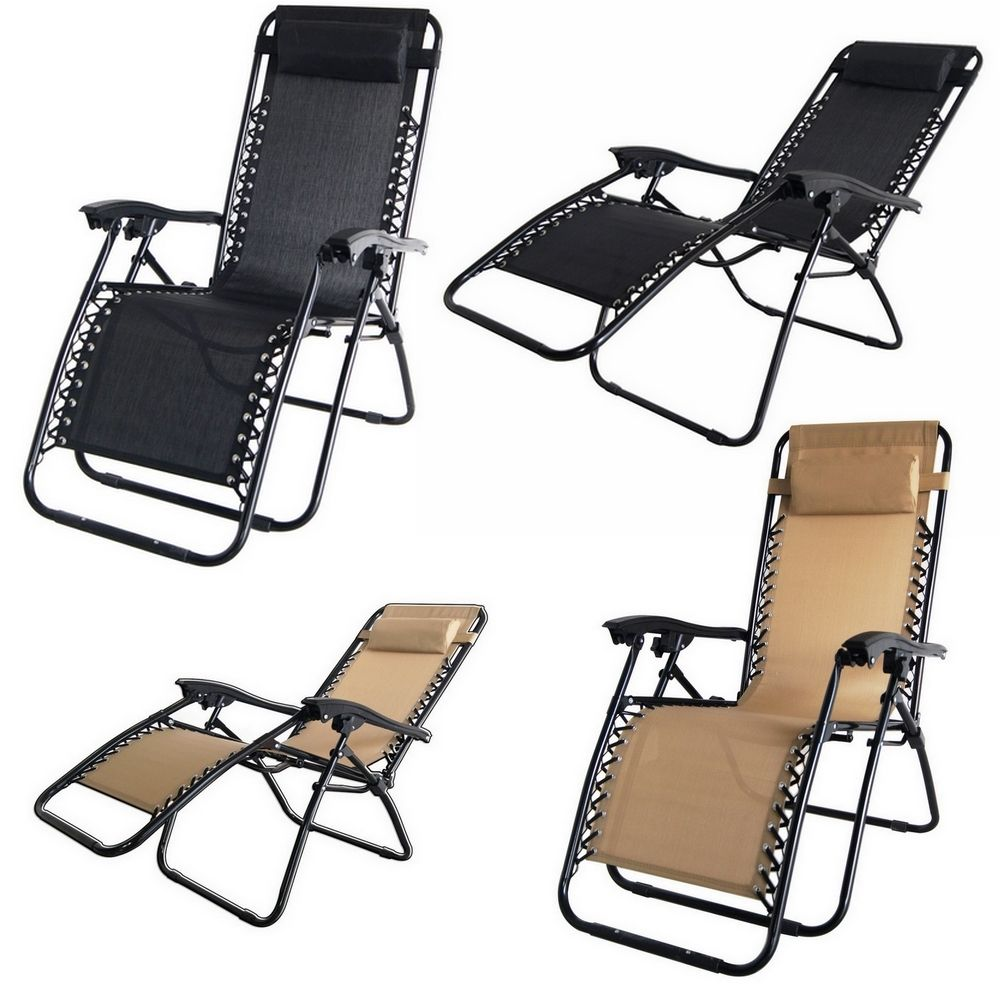 Folding Zero Gravity Recliner Lounge Chair With Canopy Shade & Magazine Cup Holder - Walmart.com