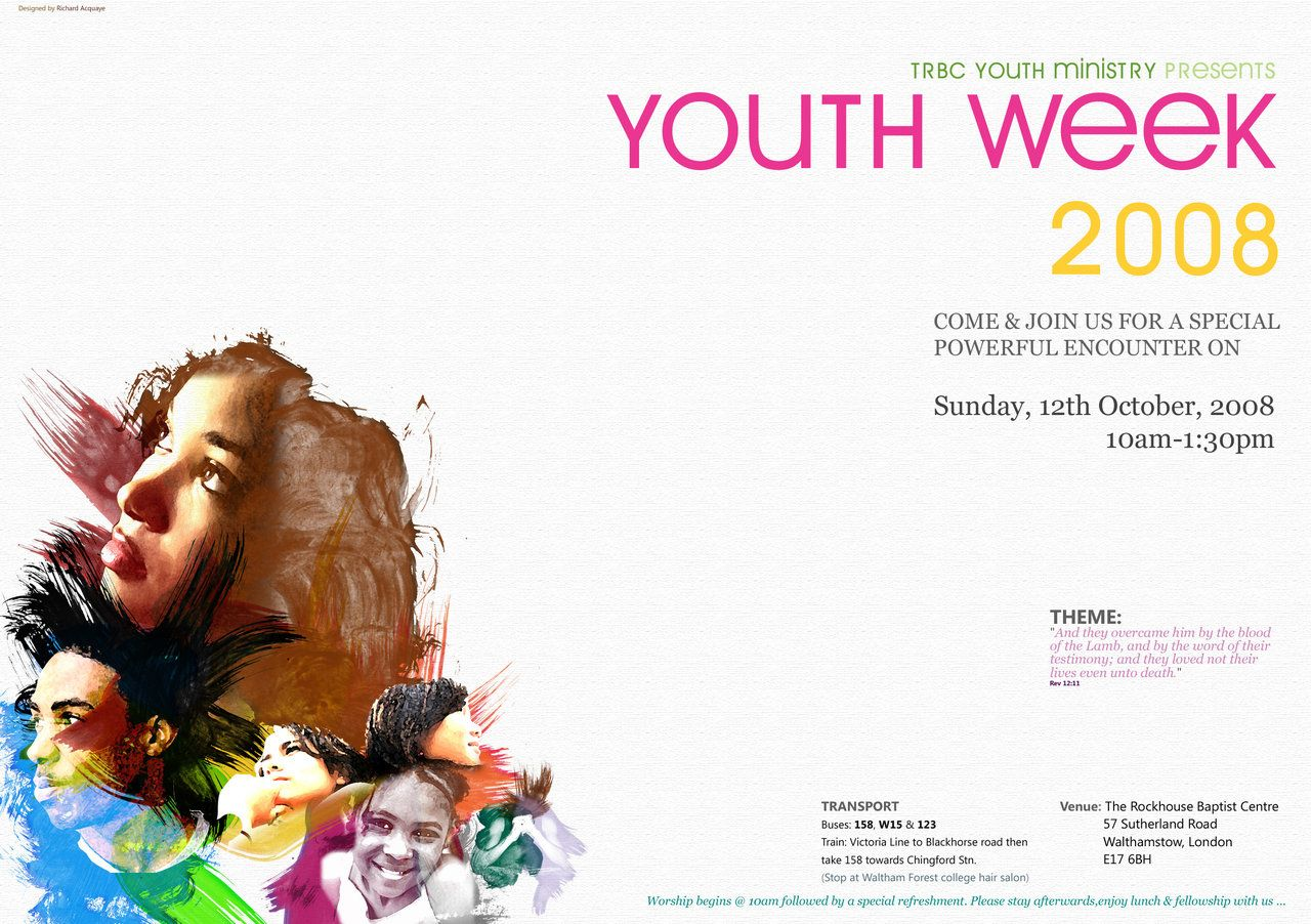 Poster design for youth - Youth Poster Google Search
