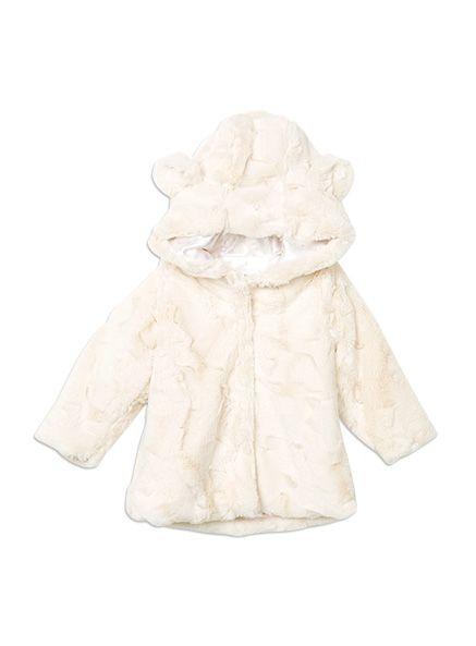 Pumpkin Patch jackets hooded faux fur jacket W5TG40014