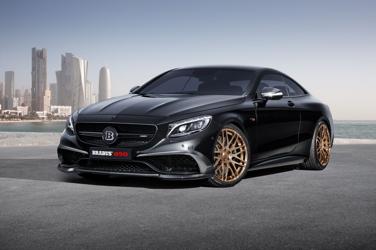 Brabus 850 6 0 biturbo coupe mercedes benz s 63 amg coupe