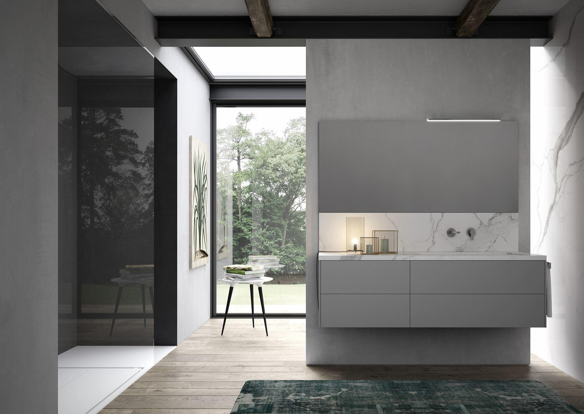 Microtopping Bagno ~ Oltre fantastiche idee su mobili da bagno grigi su