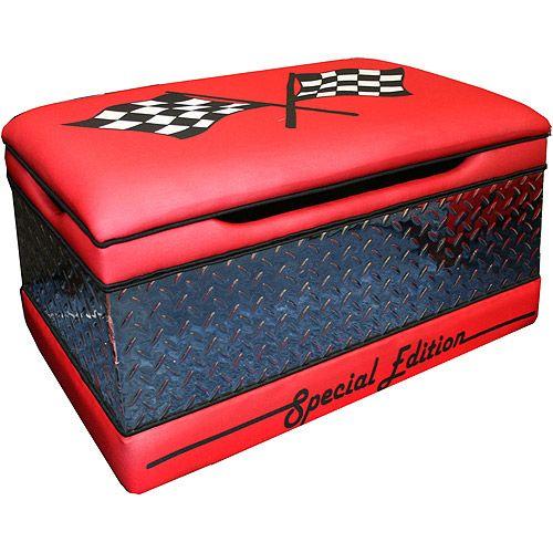 Walmart Race Car Large Toy Box Boy Car Room Cars Toy Box Racing Bedroom