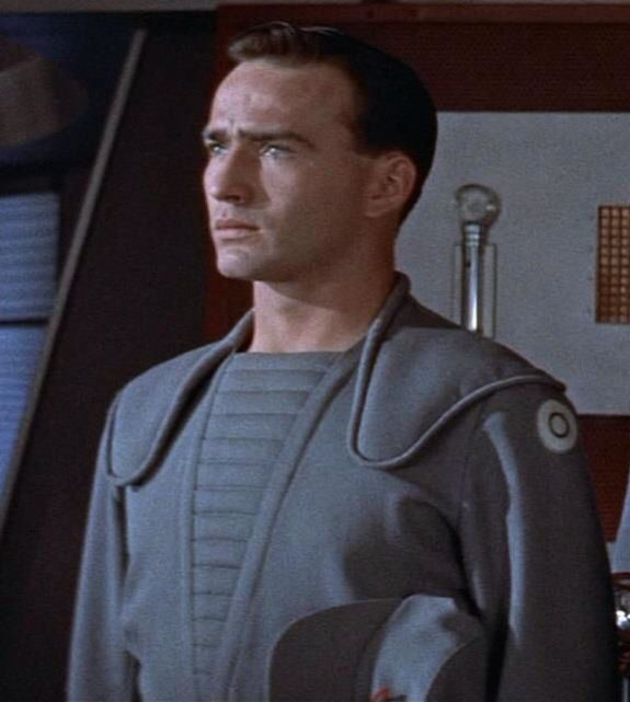 James Drury in the movie Forbidden Planet (With images)   James ...