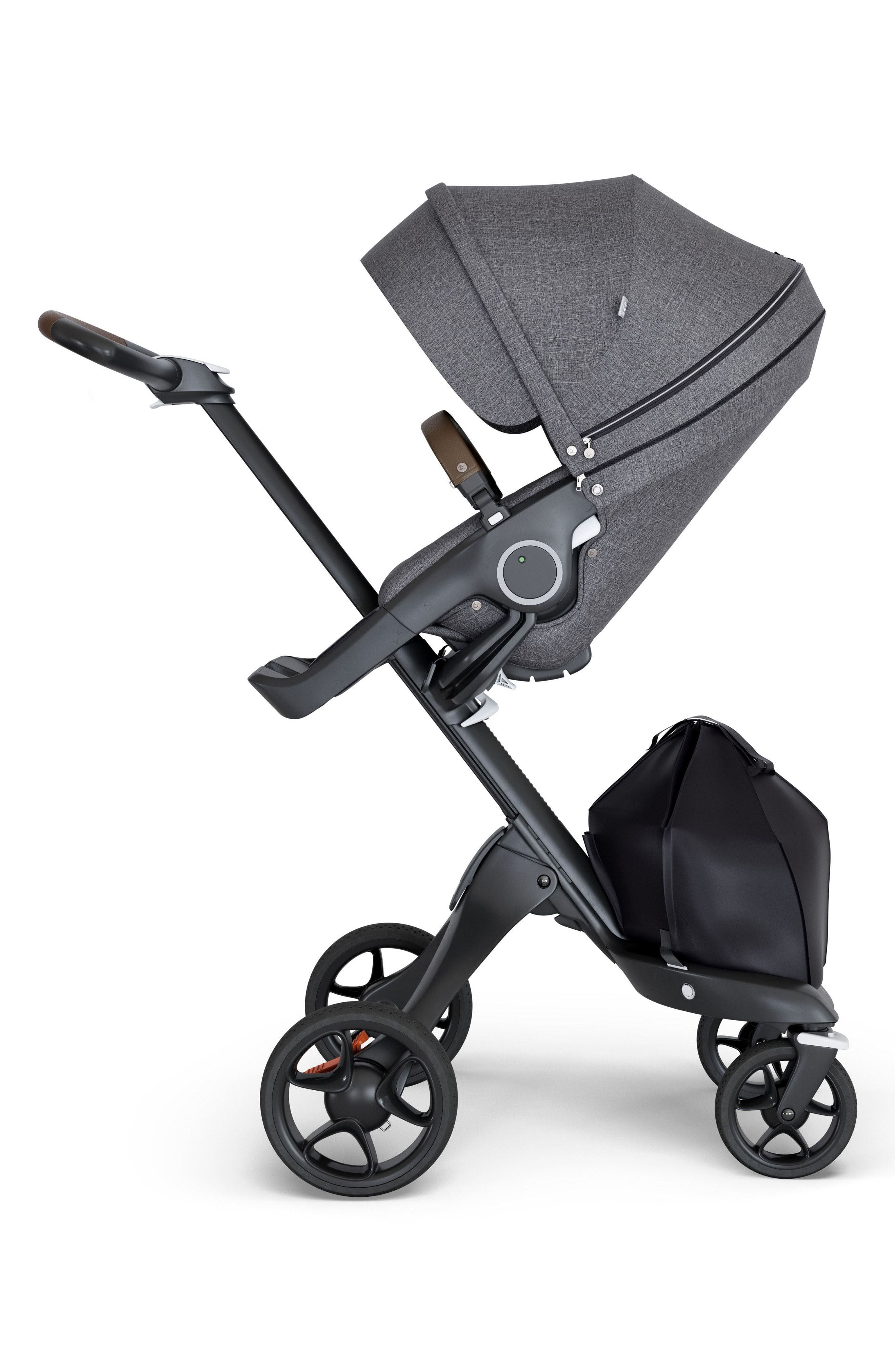 Stokke Xplory® Black Chassis Stroller available at