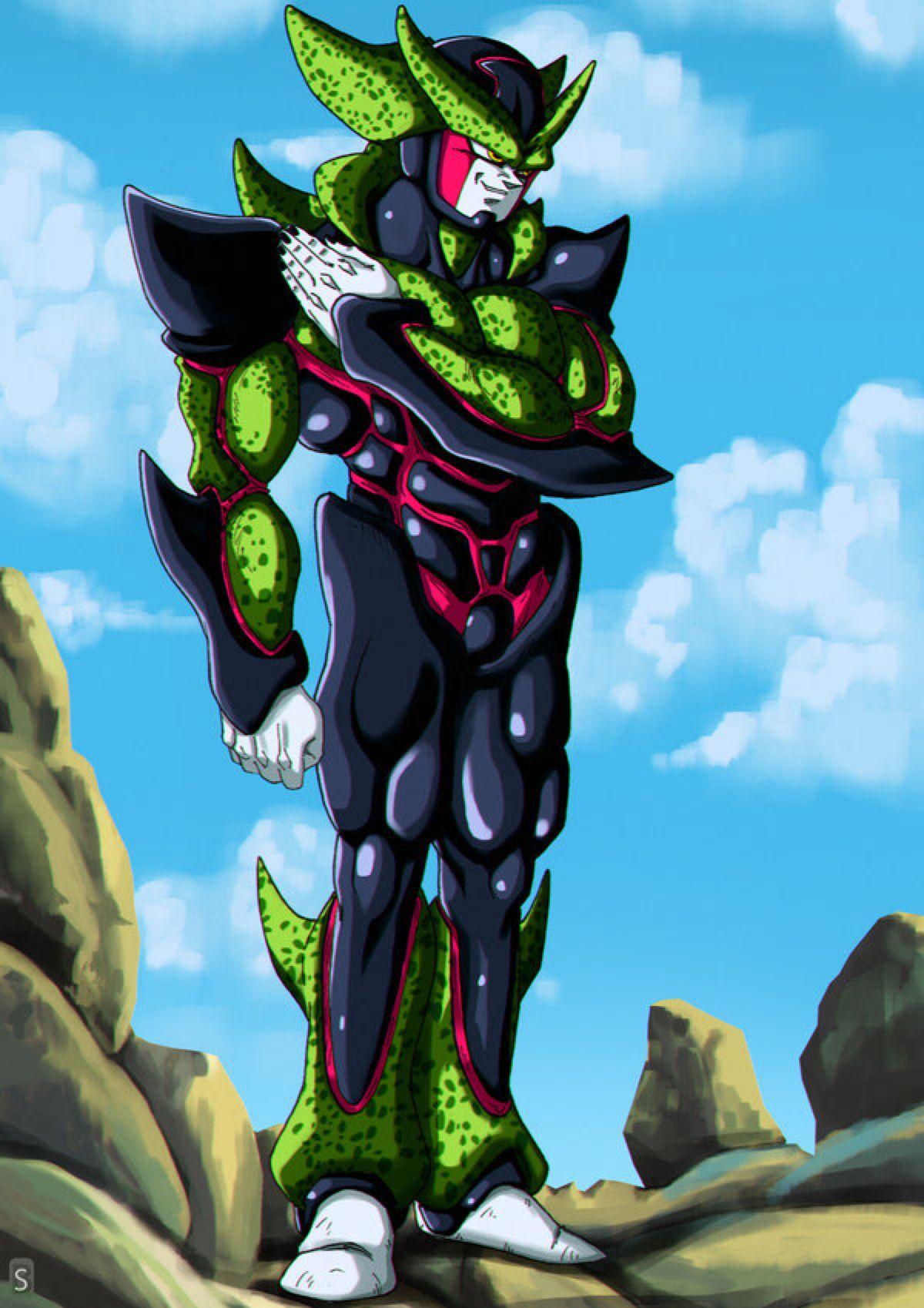 Hyper perfect cell by bloodsplach on deviantart anime dragon ball z dragon ball dragon - Super cell dbz ...