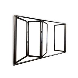 Bi Fold Glass Wall Systems By Milgard Windows And Doors Folding Glass Doors Glass Wall Systems Milgard Windows