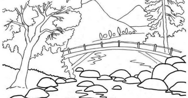 Terbaru 30 Gambar Pemandangan Jembatan Kartun Grand Maerakaca Grand Maerakaca Merupakan Branding Baru Puri Temukan Game Te Di 2020 Sketsa Buku Mewarnai Poster Cetak