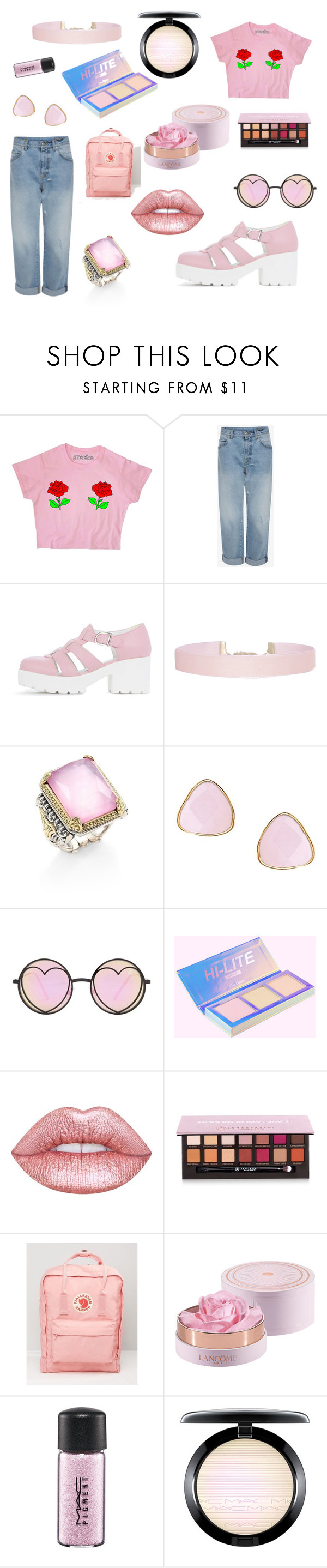 """""""Untitled #61"""" by marinpollock-1 ❤ liked on Polyvore featuring Humble Chic, Konstantino, Ottoman Hands, Betsey Johnson, Lime Crime, Anastasia Beverly Hills, Fjällräven and MAC Cosmetics"""
