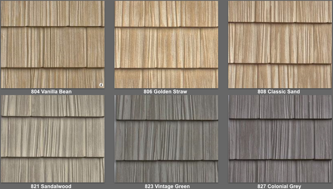 Vinyl Siding Split Shake Like Real Cedar Shake 34 Colors