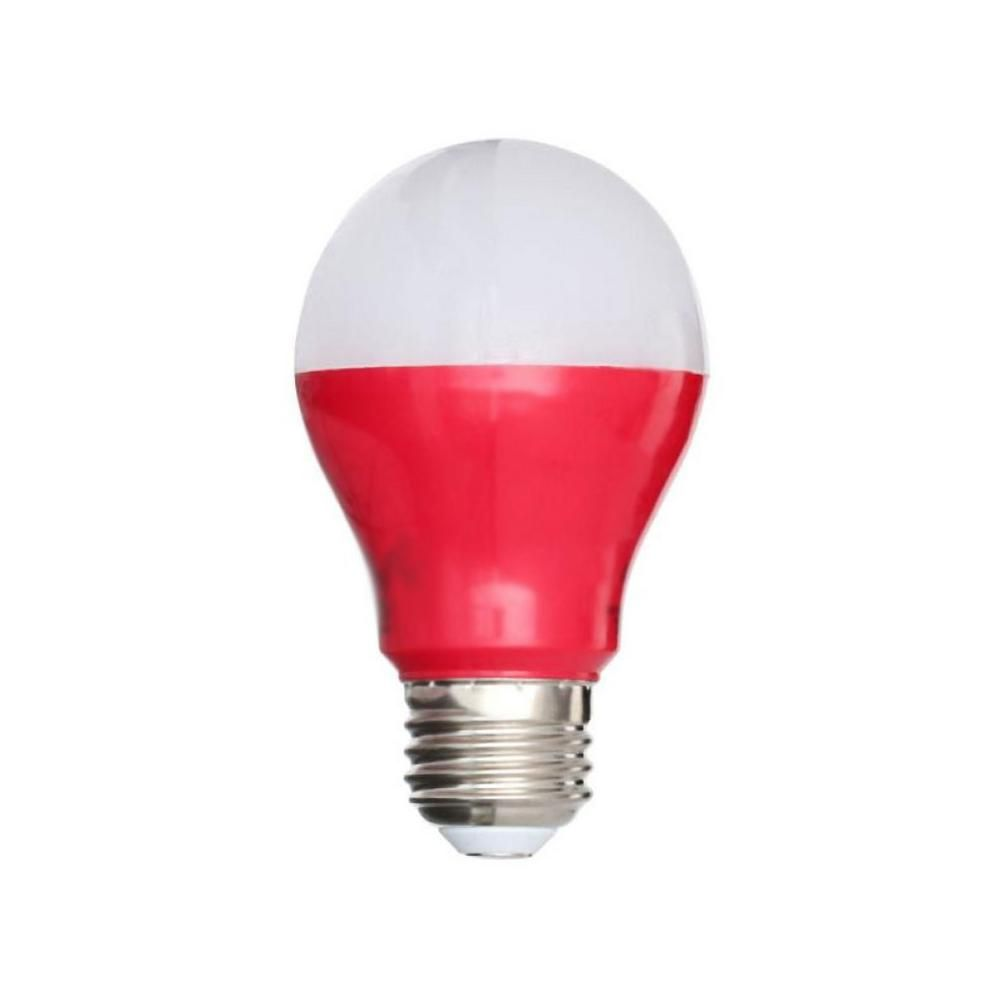 25W Equivalent A19 LED Light Bulb, Red | Products