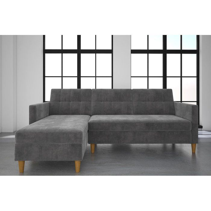 Bickel Sleeper Sectional Sofas For Small Spaces Modern