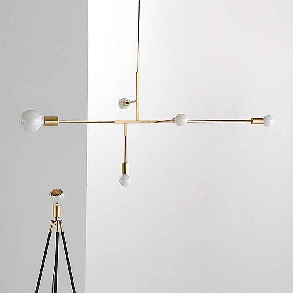 YOKA Modern Metal Pendant Lighting Hanging Lamp Ceiling Chandelier