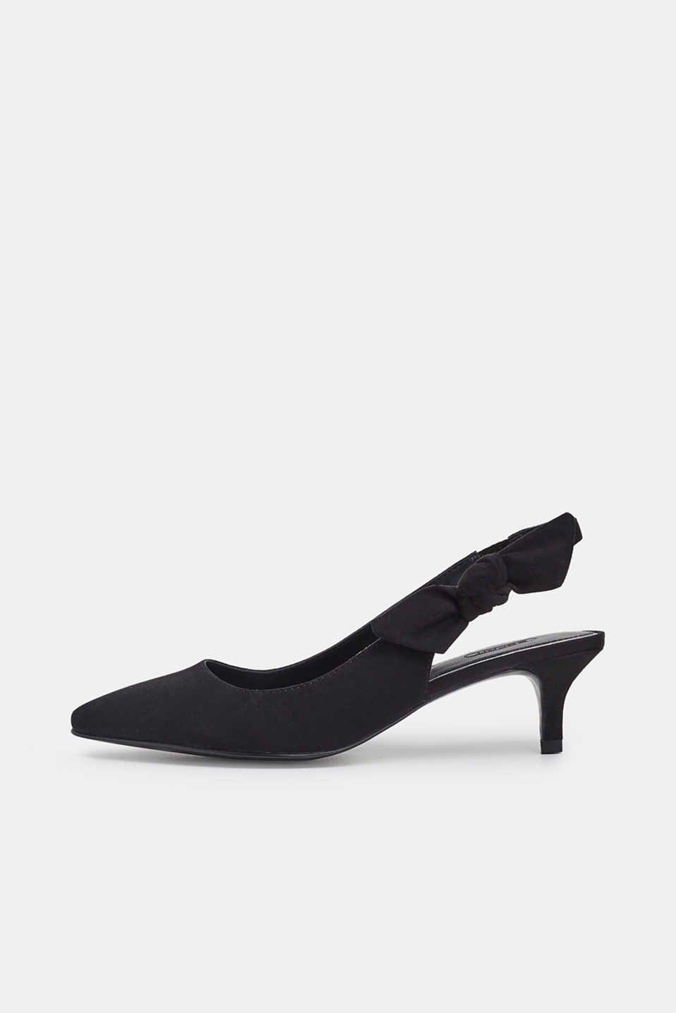 Court shoes, Slingback pump, Kitten heels