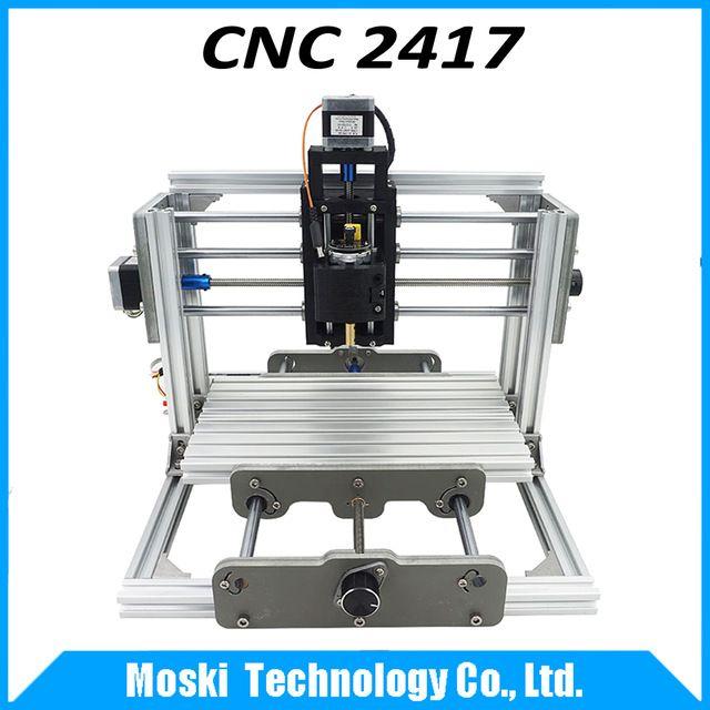 cnc 2417,diy cnc engraving machine,3axis mini Pcb Pvc