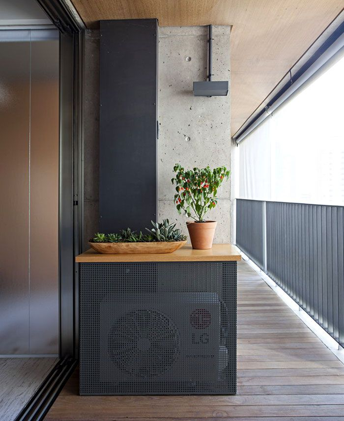 Studio Apartment Divided Up With Wooden Screens Apartment