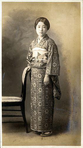 Vintage Japanese kimono Nice antique