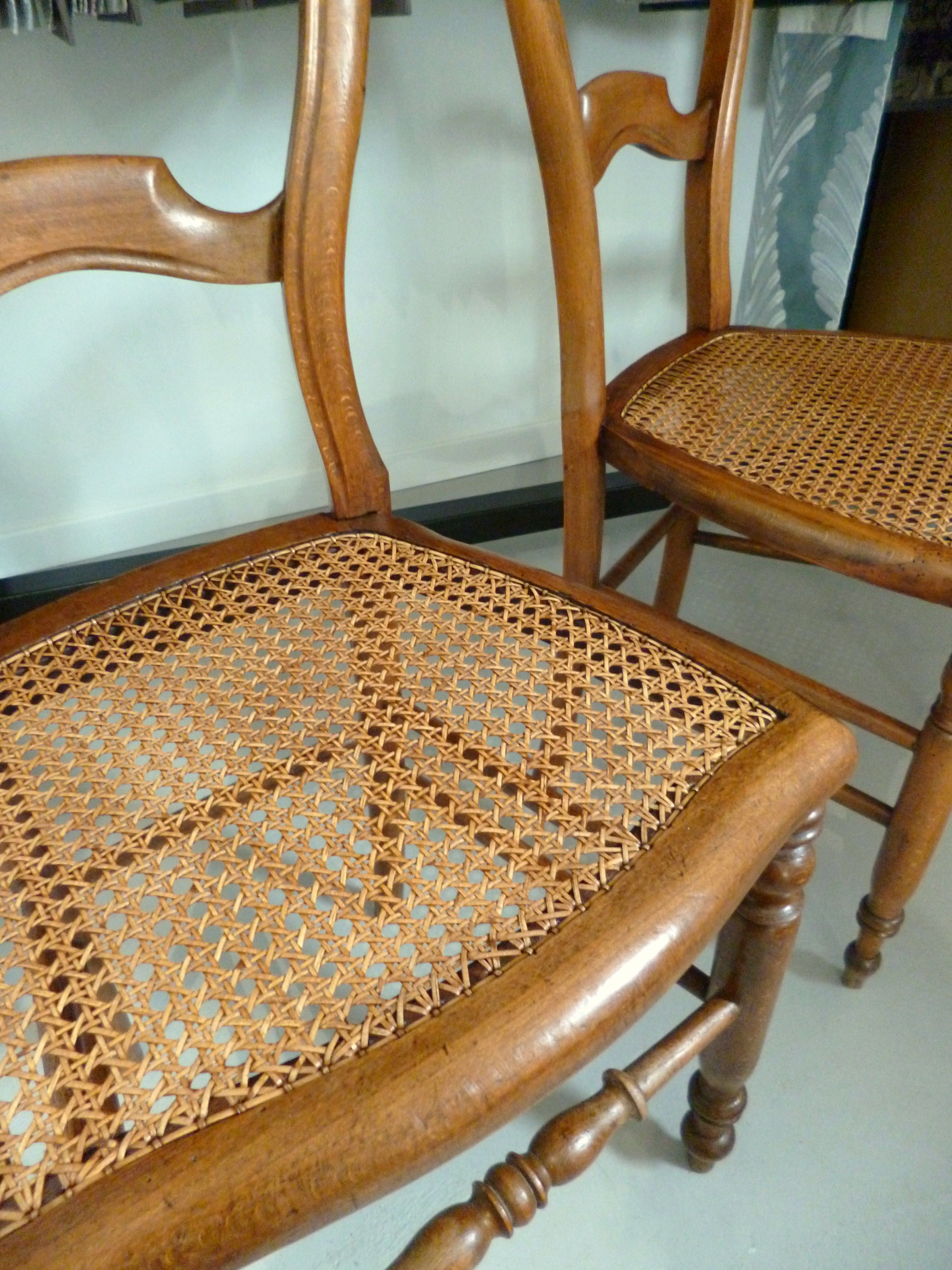 cannage traditionnel chaises en