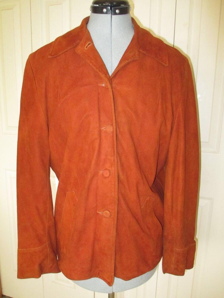 Vintage City Paris Suede Coat San Francisco Leathermodo Large #CityParis #Casual