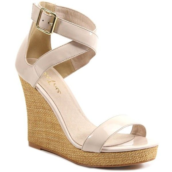 Diba Ocean Shore Wedge Sandal ($33) ❤ liked on Polyvore