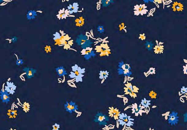 """100/% Cotton Poplin Dress Fabric Material 44/"""" 112cm wide Tropical Fish Coral"""