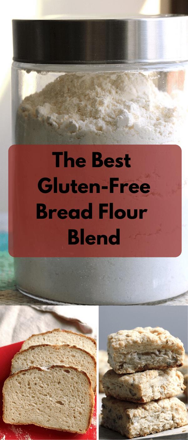The Best Gluten Free Bread Flour Mix The Vegan Harvest Recipe In 2020 Gluten Free Bread Flour Best Gluten Free Bread Gluten Free Bread