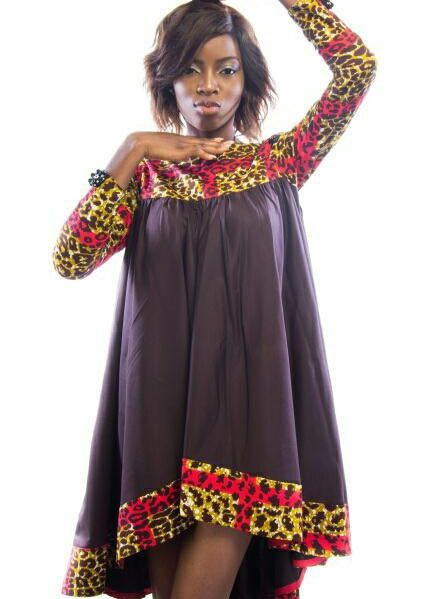 robe wax africain flare robe africaine dames usure tendance design africain dashiki africaine. Black Bedroom Furniture Sets. Home Design Ideas