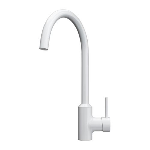 White Kitchen Mixer Tap dorf | mixer taps - poseidon - poseidon sink mixer black