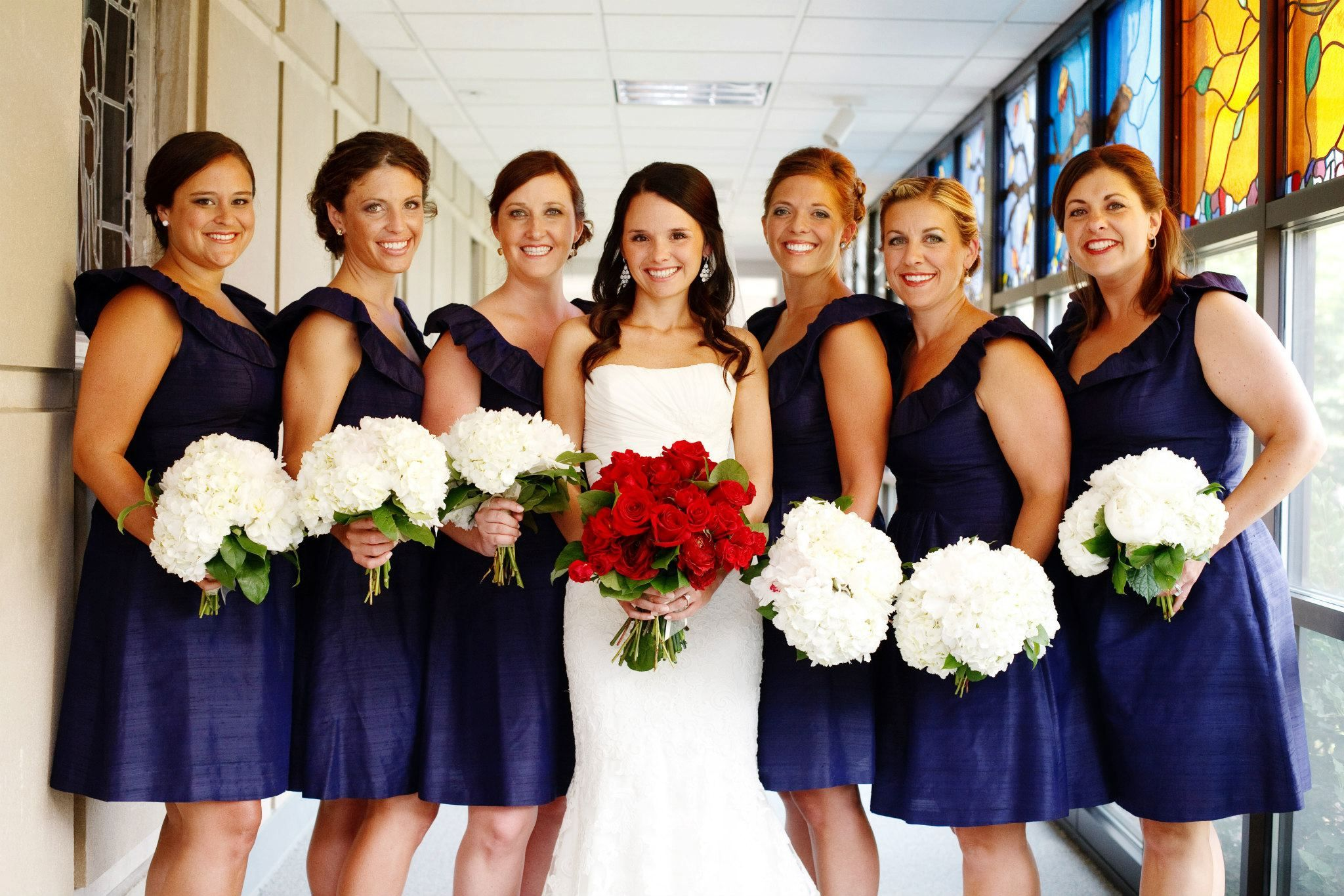Mississippi wedding bella bridesmaid red white blue flowers mississippi wedding bella bridesmaid red white blue flowers ombrellifo Gallery
