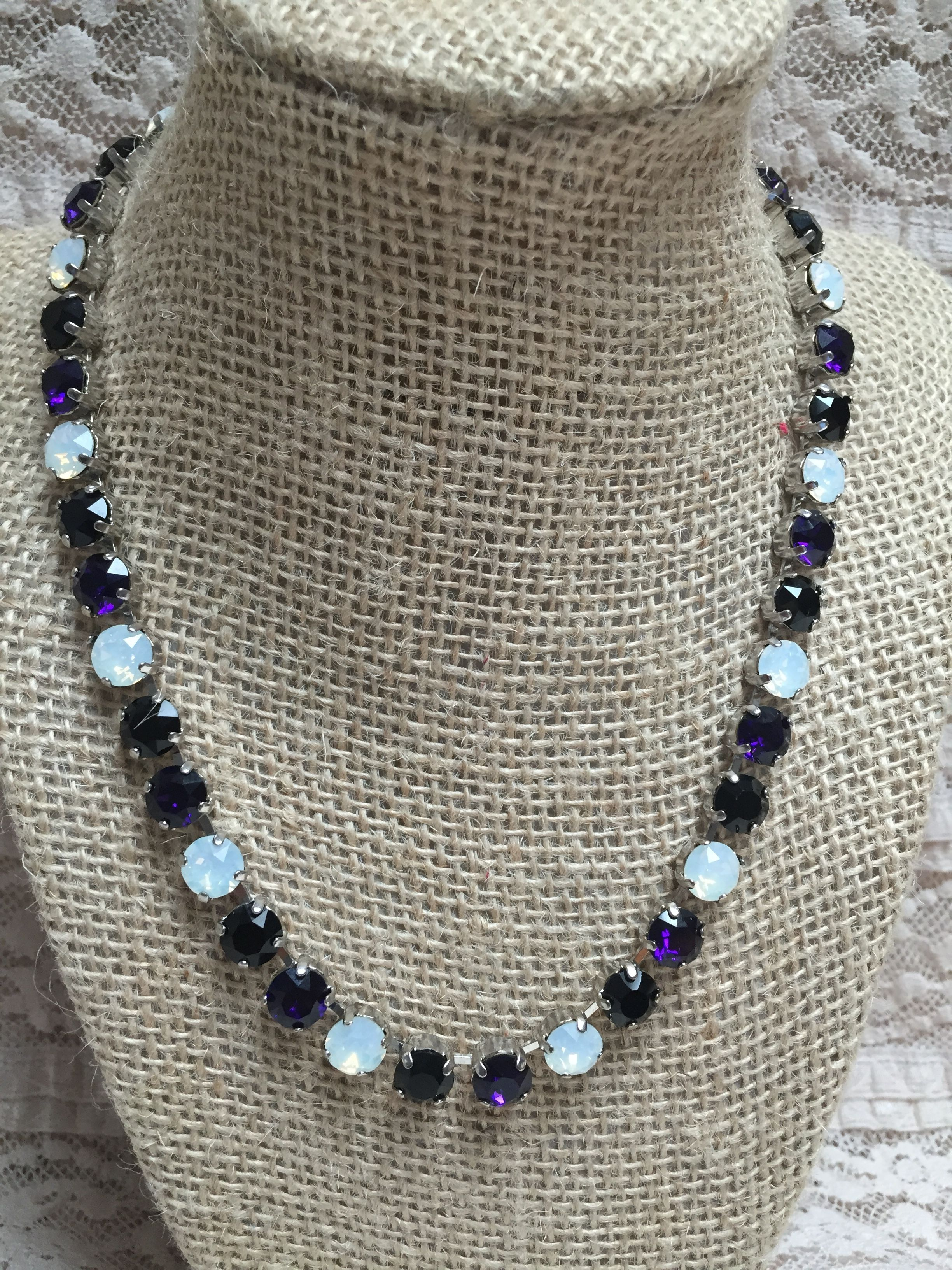 Tanzanite, Onyx and Opal. Colors of the Baltimore Ravens and the Spirit of Texas.