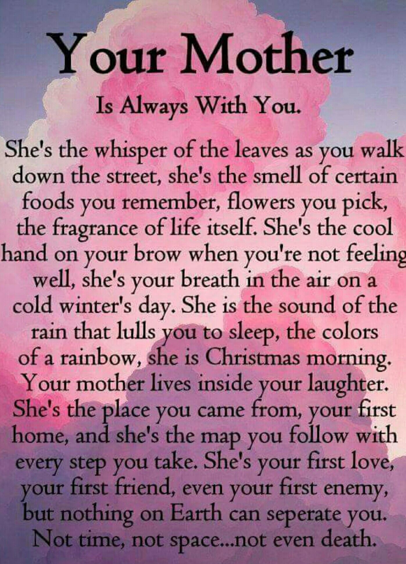 Pin By Sara Sieczkowski On Prayers For The Grieving Miss My Mom