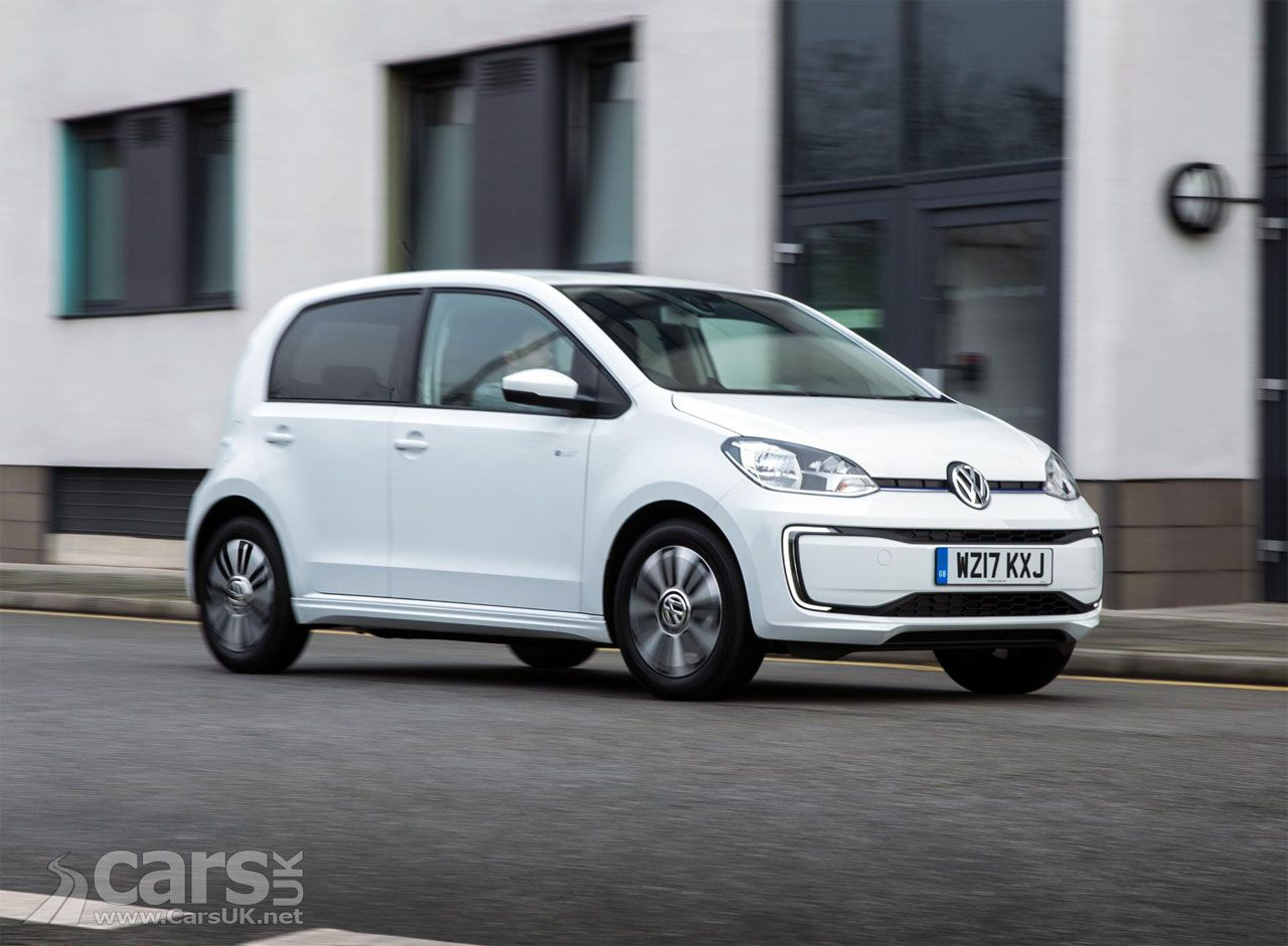 First New Electric Volkswagen E Up Delivered In The Uk Boasts Vw