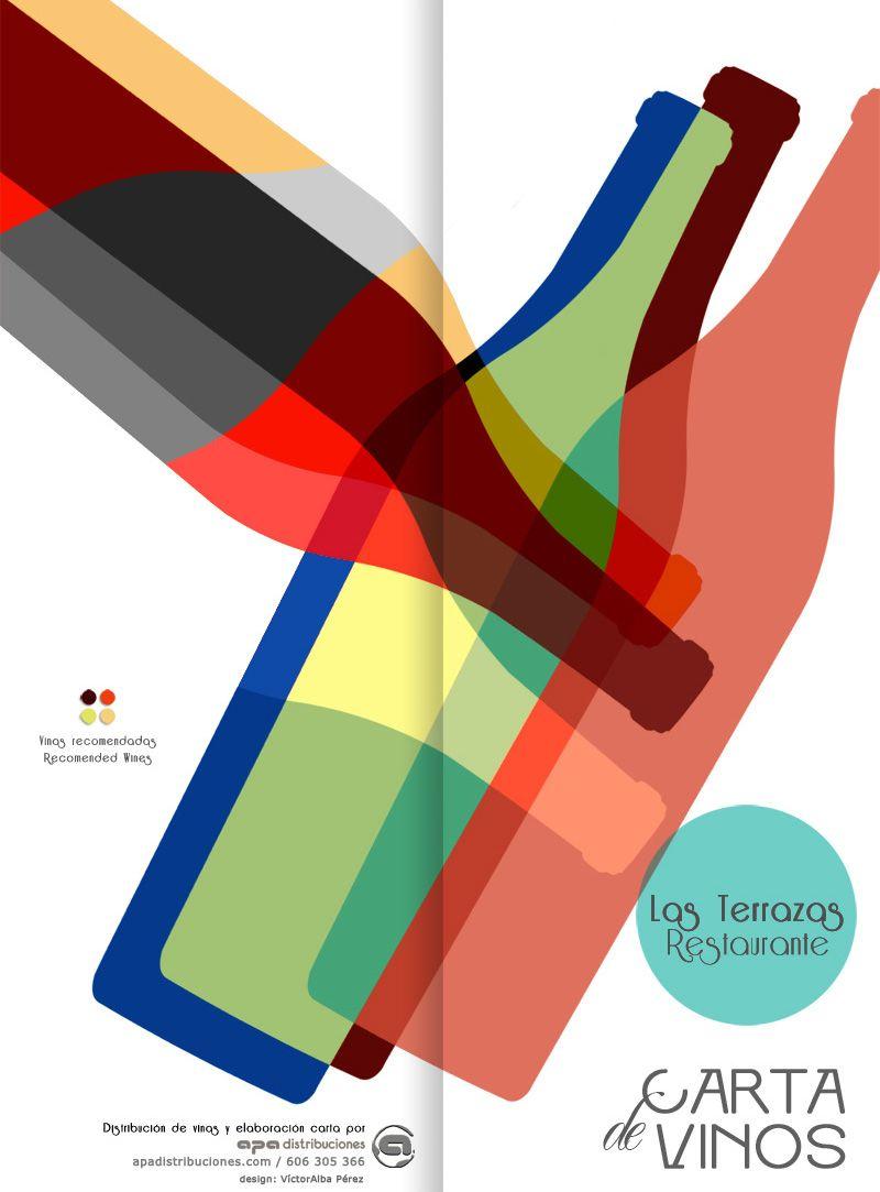 Victoralbaph Estudio Proyecto Diseno Y Maquetacion Cartas De Vinos Y Carta De Vinos Logo De Vino Disenos De Unas