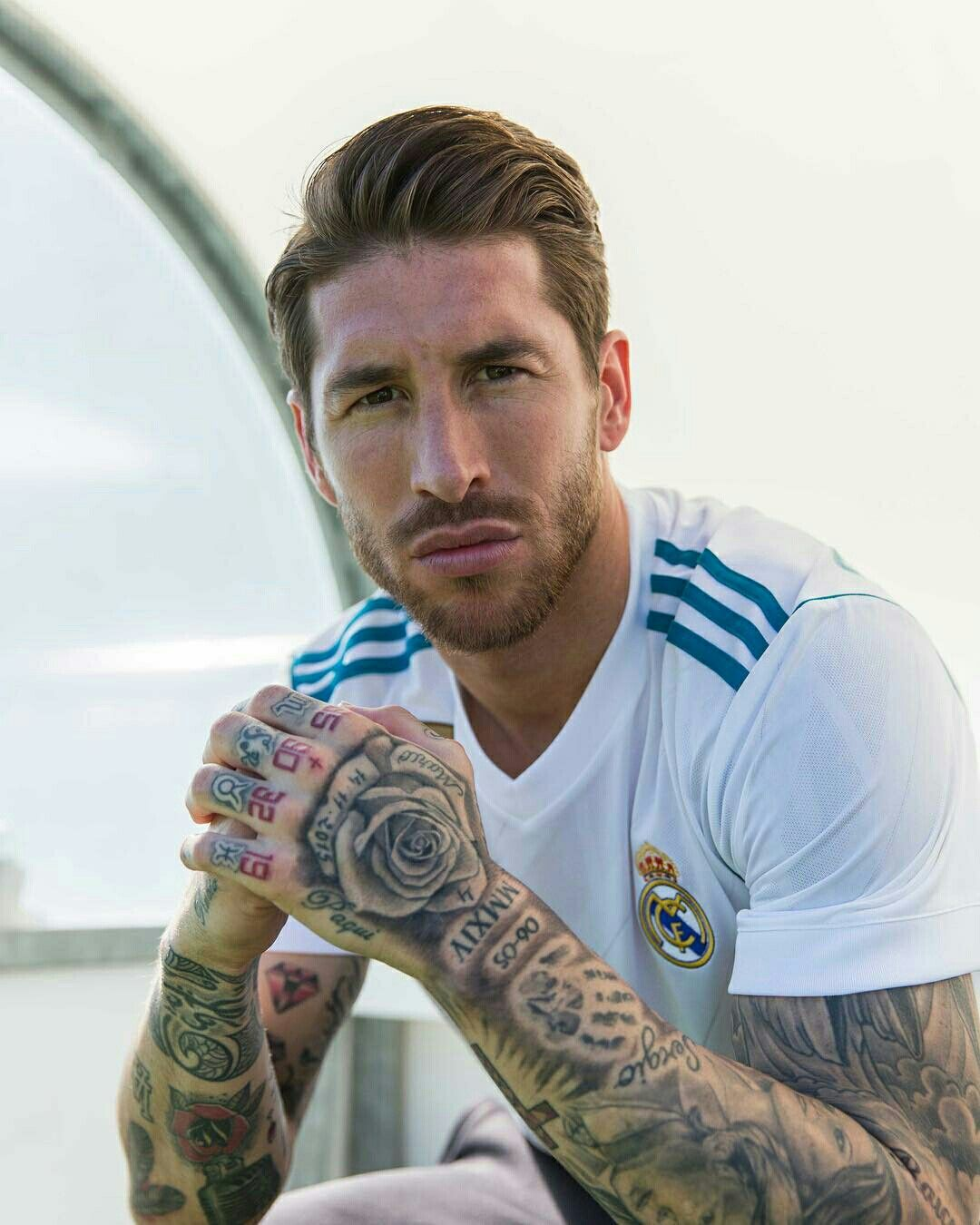 Sergio Ramos Real Madrid | Tattooed men | Pinterest ...