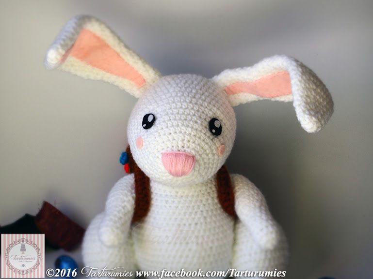 Amigurumi Patrón: Conejito de Pascua Pascal | Conejo de pascua ...